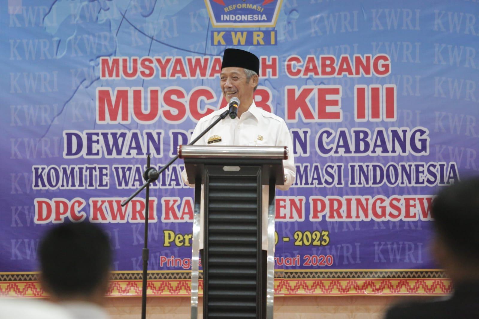 SUJADI HADIRI MUSCAB DPC KWRI KE-III