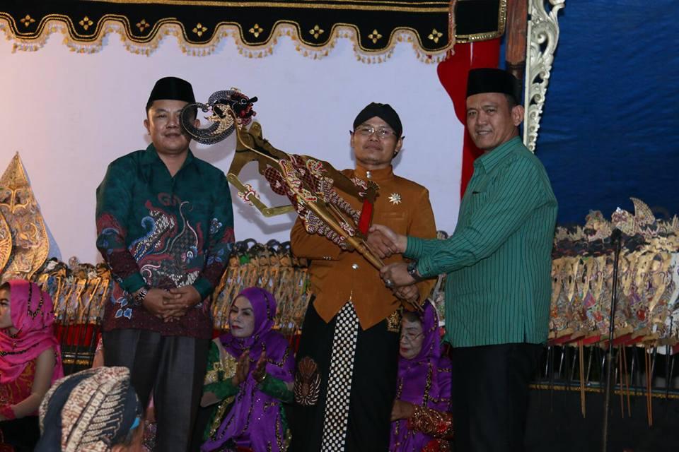 Halalbilhalal dan tasyakuran Fraksi PKB DPRD Kabupaten Pringsewu di Desa Pandansari Kecamatan Sukoharjo Kamis 20-7 malam
