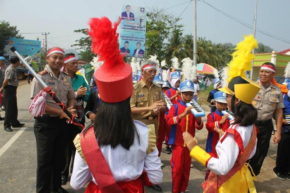 Pembuatan Video Ucapan HUT RI ke 72 Kapolda Lampung di Pringsewu 3