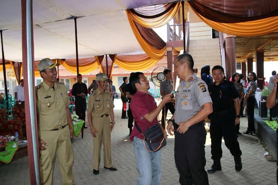 Pembuatan Video Ucapan HUT RI ke 72 Kapolda Lampung di Pringsewu 4