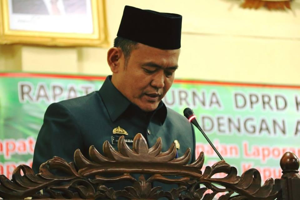 Penyampaian Laporan Hasil Reses Anggota DPRD Kabupaten Pringsewu