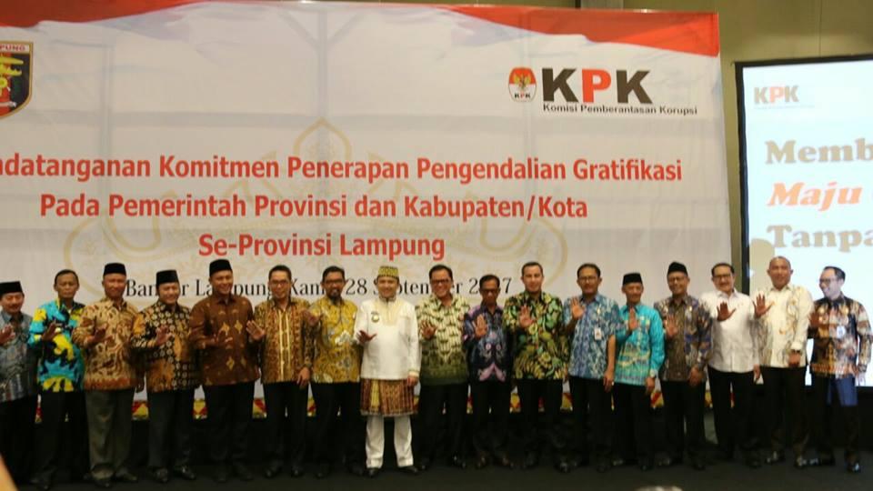 komitmen-anti-gratifikasi-provinsi-lampung