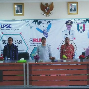 Pemkab Pringsewu Sosialisasikan SiRUP 2018