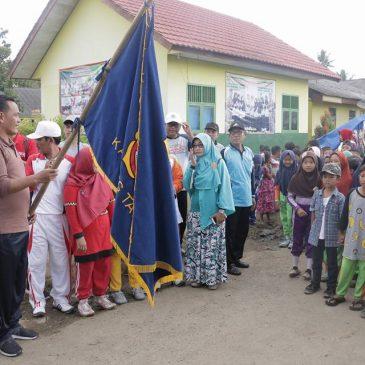 Wabup Pringsewu Lepas Jalan Sehat Kecamatan Pardasuka