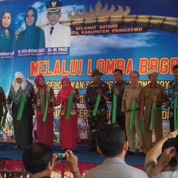 Tim Penilai Lomba BBGRM Lampung Kunjungi Pekon Pujiharjo