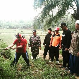 Persiapan TMMD 2018, Wakil Bupati Pringsewu Tinjau Bandung Baru Barat