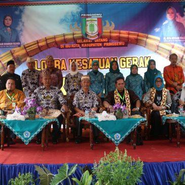 Pekon Lugusari Kab. Pringsewu Wakili Provinsi Lampung Lomba LBS Tingkat Nasional