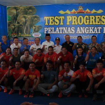Atlet Pelatnas Angkat Besi Jalani Progress Test Menuju Asian Games 2018