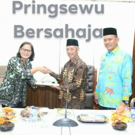 Staf Sekretariat Wakil Presiden RI Kunjungan Kerja ke Pemkab Pringsewu