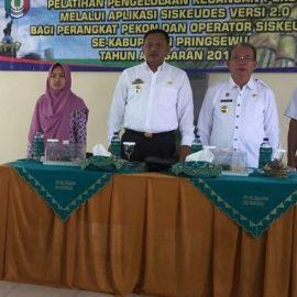 Dinas PMP Kabupaten Pringsewu Adakan Pelatihan Pengelolaan Keuangan Pekon
