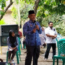 Wakil Bupati Pringsewu Menghadiri Studi Banding Budidaya Ikan dari Kabupaten Bengkulu Utara